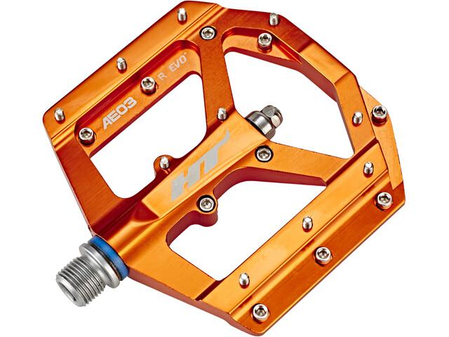 HT AE03 Pédales EVOFlat, orange